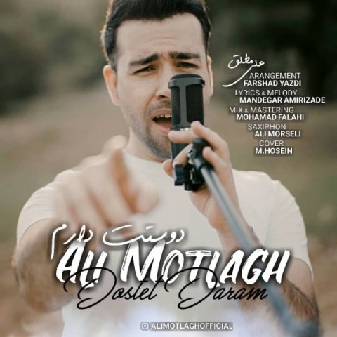 دانلود آهنگ دوستت دارم از علی مطلق