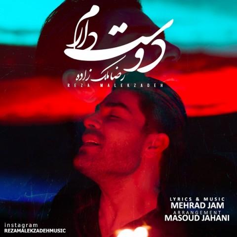 دانلود دوست دارم از رضا ملک زاده