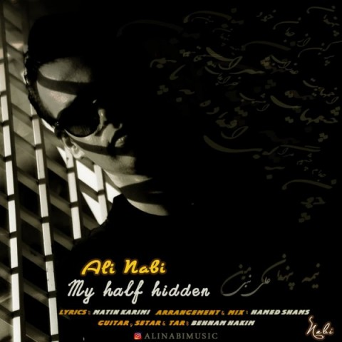 دانلود آهنگ نیمه پنهان من از علی نبی
